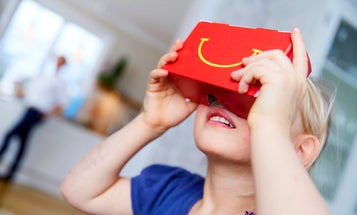 Your McDonald's Happy Meal Box Is Now A Virtual Reality Headset