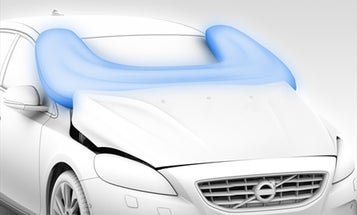 Volvo's New Exterior Airbags Protect Pedestrians