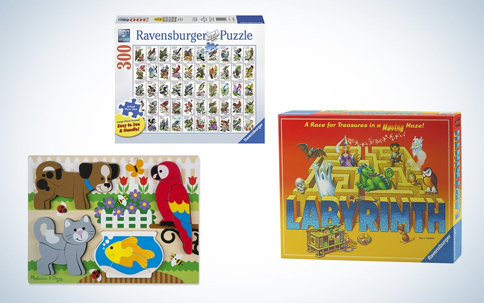 Ravensburger and Melissa and Doug