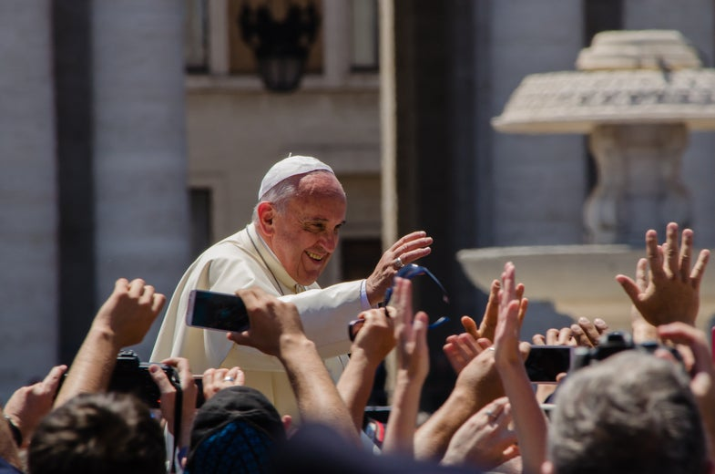 Pope Francis Says Contraception Might Be OK For Women Threatened By Zika Virus