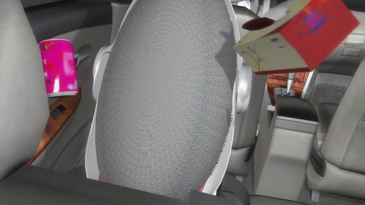 Video: Introducing the Carkoon, a Child Car Seat that Wraps Your Child in Kevlar Upon Impact