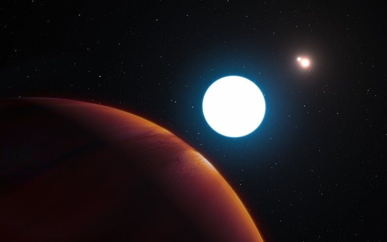 Weird Exoplanet
