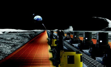 A Robot Army To Build Solar Panels (On The Moon)