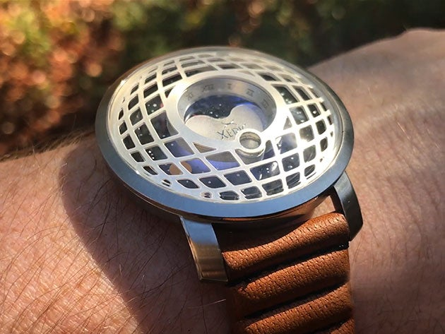 Put the Cosmos on your wrist with the Trappist-1 moon phase watch
