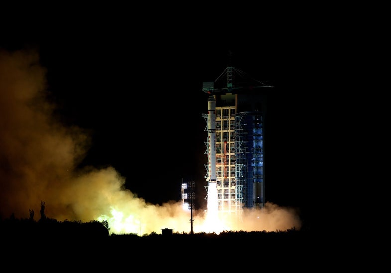 China Launches Quantum Satellite In Search Of Unhackable Communications