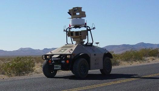 Video: Nevada Nuclear Site Hires Autonomous Robotic Sentries To Provide Security