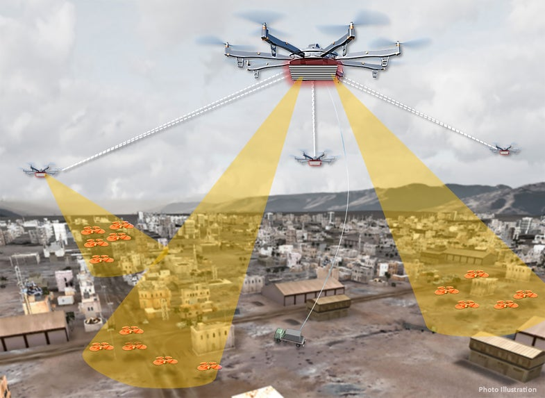 The Military Wants A Way To Track Drones Flying Over Cities