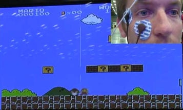 Video: Play Super Mario Bros. on NES Using Nothing But Eye Movements