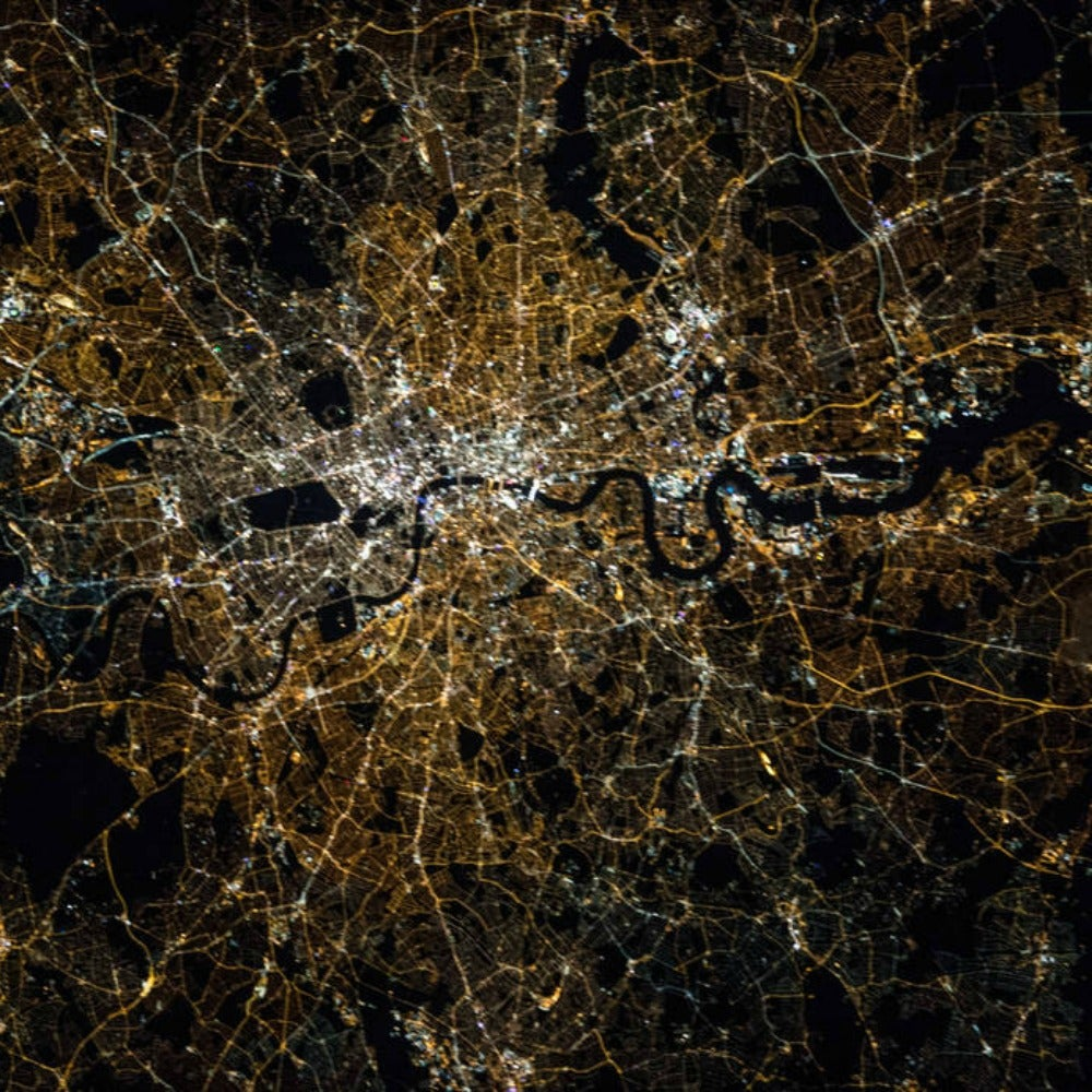 Here's What Cities Look Like at Night from the Space Station