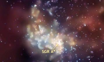 Supermassive Black Hole Takes a Nap