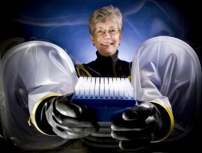 Using Cleanup Bacteria to Render Radioactive Metals Chemically Inert