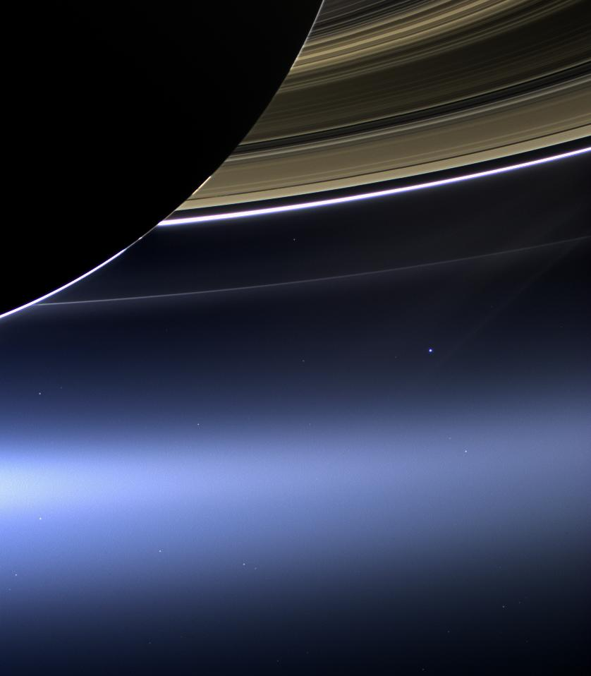 earth from a distance