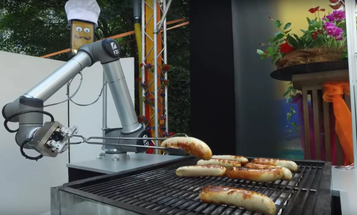 Watch A German Robot Grill Sausages To Perfection