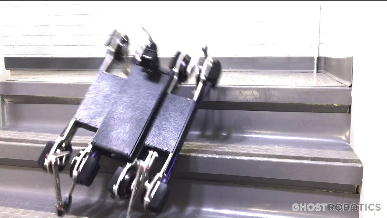 Four-Legged Robot Can Open Doors