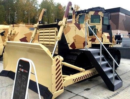 Russia Unveils Armored Bulldozer