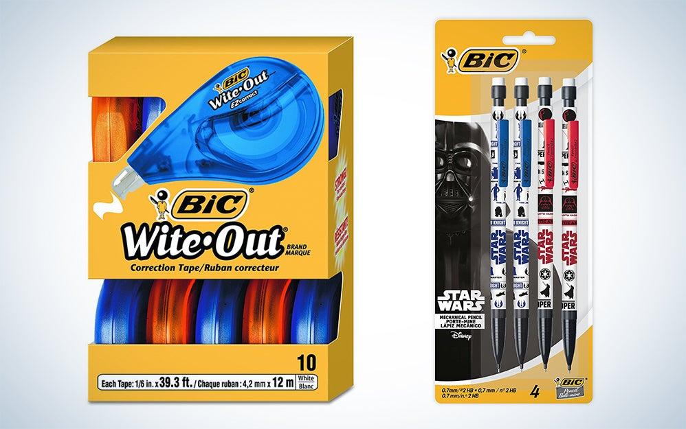 BIC offie supplies