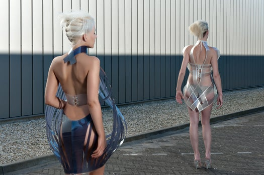 Design Studio Working On A Business Suit That Turns Transparent When The Wearer Lies