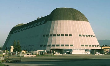 NASA and U.S. Navy Pledge to Save Silicon Valley's Massive Airship Hangar