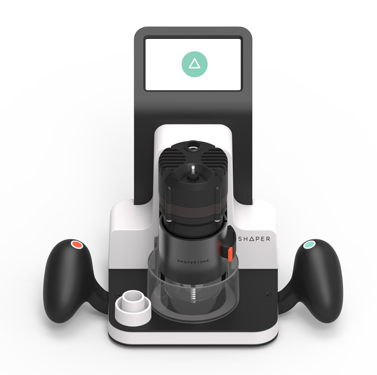 """A Sleek Digitally Augmented Router Offers """"Autocorrect For Your Hands"""""""