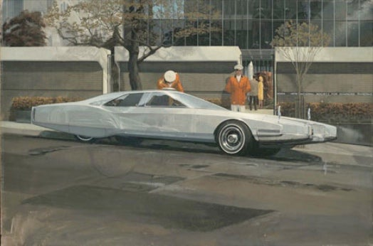 Now Showing in NYC: A Rare Collection of Hollywood Futurist Syd Mead's Paintings