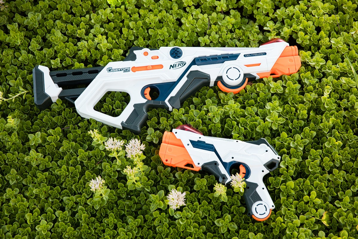 Exclusive first look: Nerf's AR-Powered Laser Ops Pro blasters