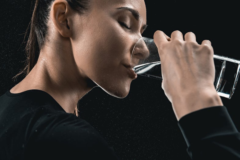All the cool new friends you'll meet when you drink raw water