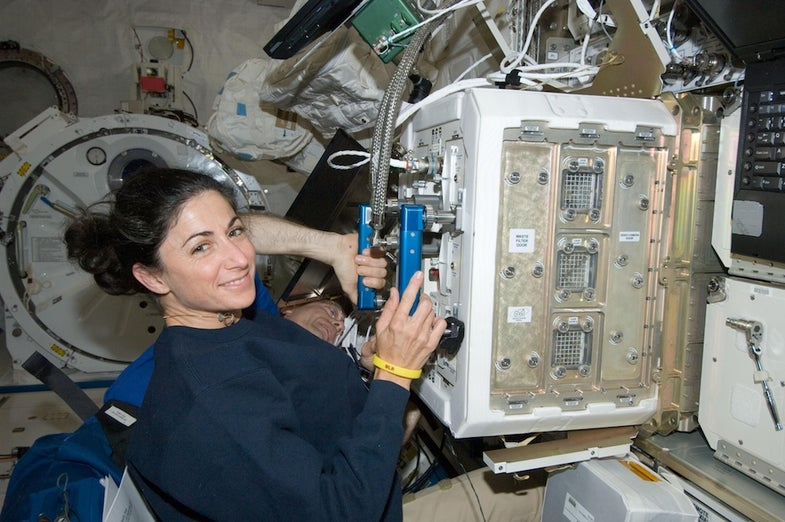 Astronauts And Mice Return From Space With Altered Eyes