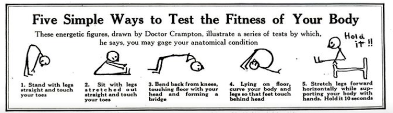 From the archives: How to stay fit and live longer, according to a 1920s authority on exercise