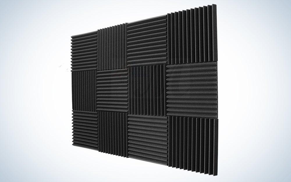 Foam Acoustic Studio Panels