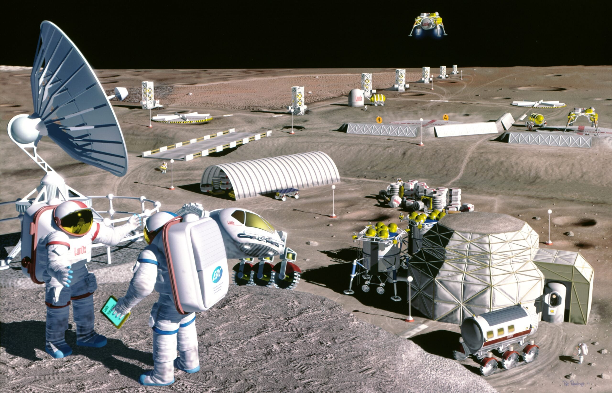 Free-Market Fans Encourage Rush for Off-Planet Real Estate