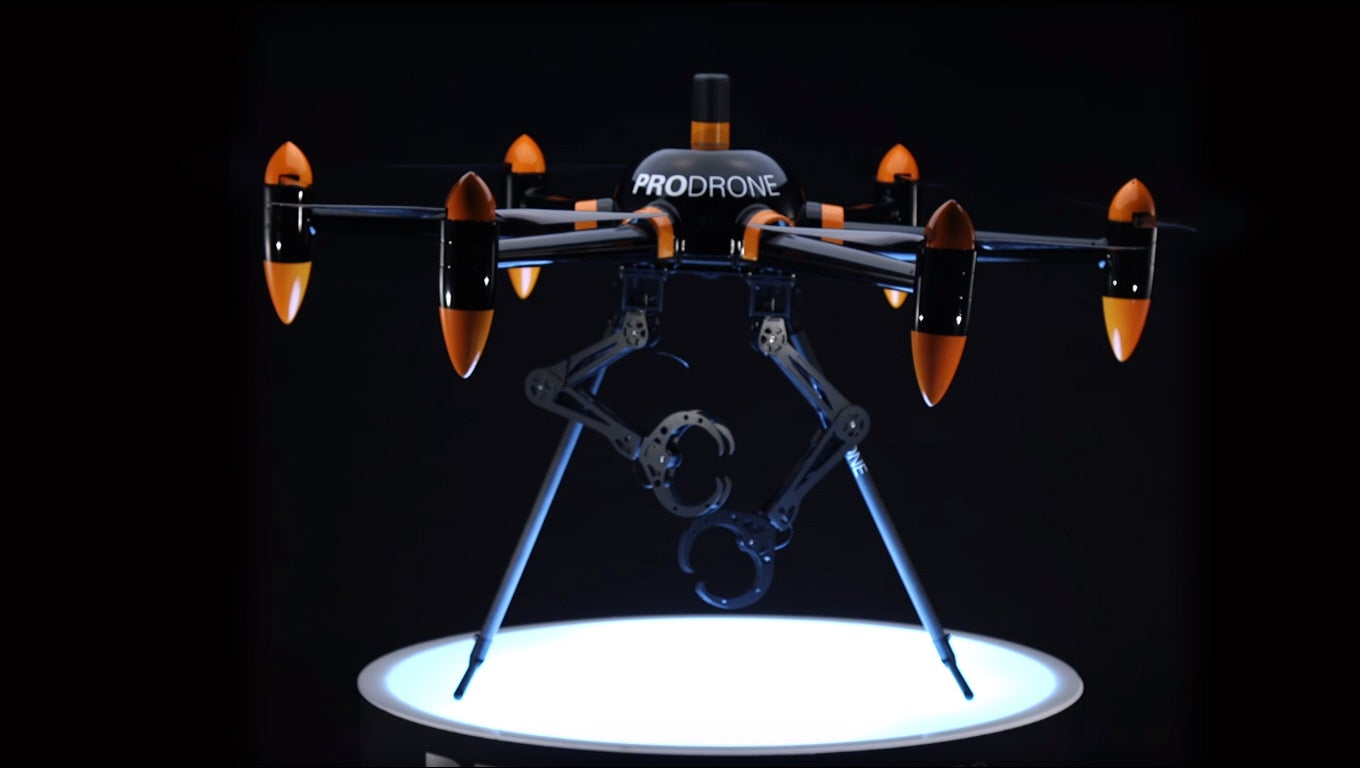 This Drone Has Arms
