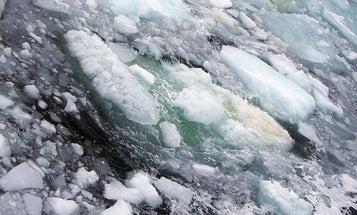 Vast Amounts of Frozen Methane Escaping into Atmosphere from Leak in Arctic Seafloor