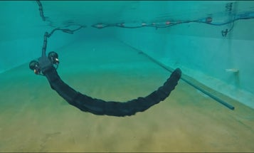This Norwegian Undersea Snakebot Wriggles Through Obstacles