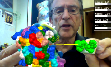 Video: A Mashup of 3-D Printing and Augmented Reality Helps Find New Drug Targets