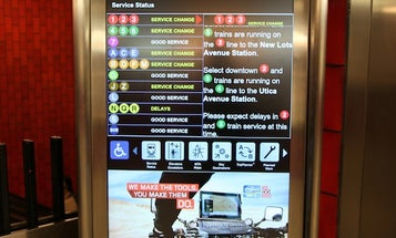 Video: Hands-On With New York's On the Go Mobile Station, a 47-inch Touchscreen Subway Map