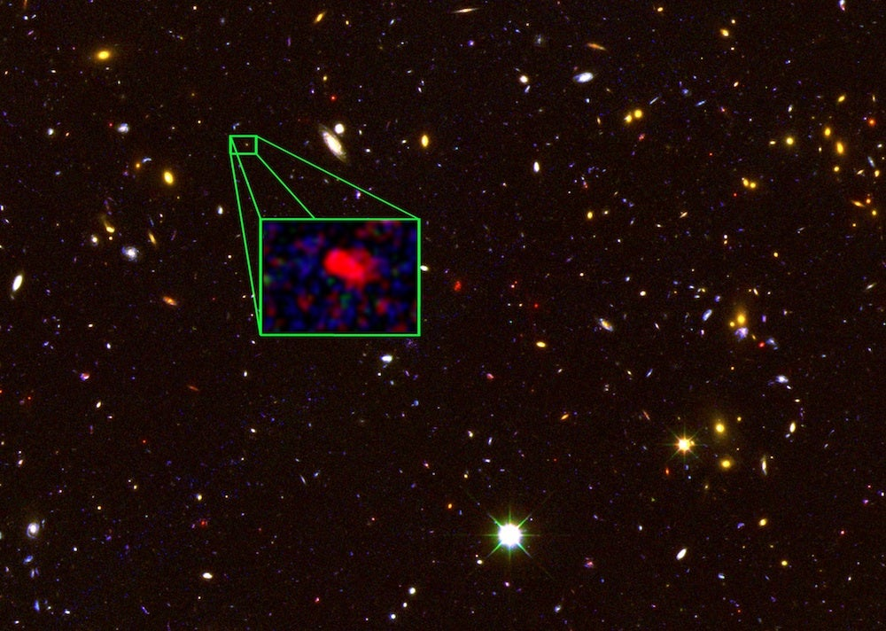 Farthest-Ever Confirmed Galaxy Offers Glimpse Of Early Universe