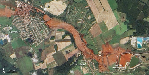 How to Clean Up Hungary's 16-Square-Mile Toxic Mess
