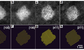 First 3-D Images of Nanoparticles Help Researchers Build New Nanoparticles