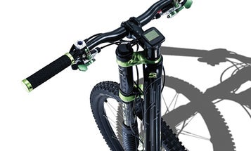 A Bicycle Suspension with Sensors Built In Automatically Adapts to Changing Terrain