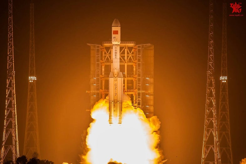 China Long March 7 Space Rocket