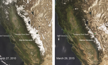 Sierra Nevada Snowpack Is At Its Lowest Level In 500 Years