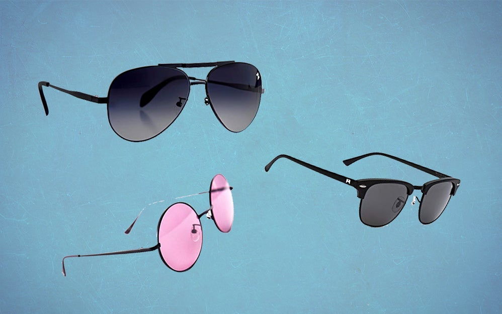 William Painter and House of Harlow sunglasses