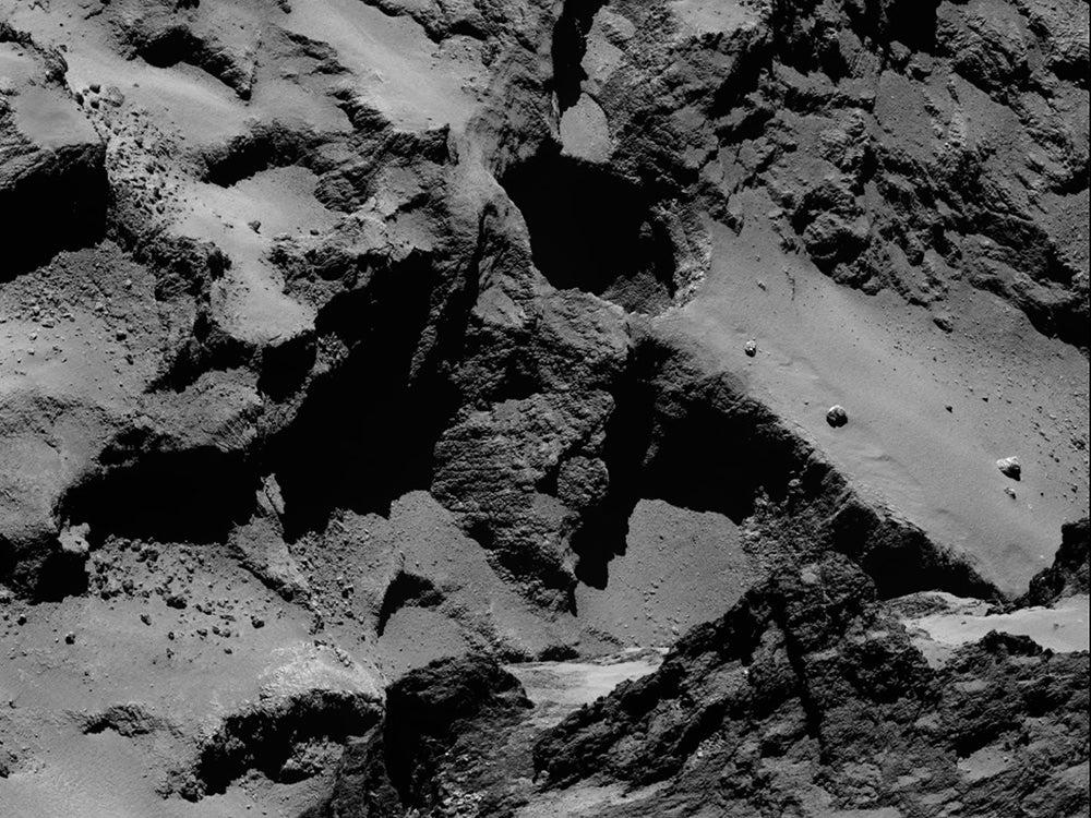 comet active regions