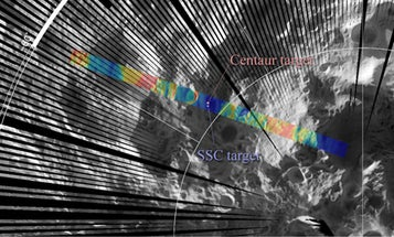 NASA Releases Satellite Thermal Images of  'Moon Bombing'