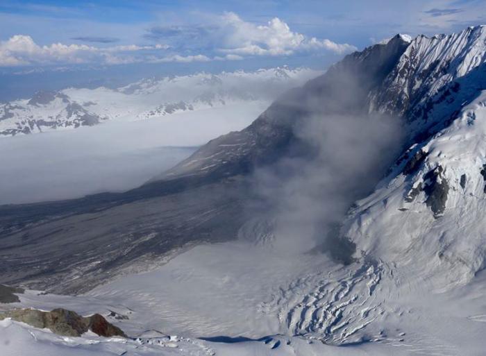 Glacier Bay Landslide