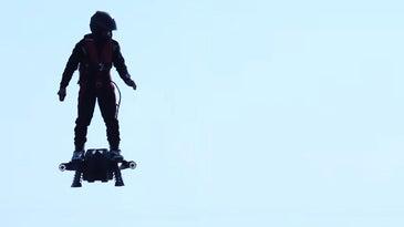 Flyboard In Flight