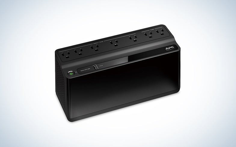 A back-up battery and surge protector for 41 percent off? I'd buy it.