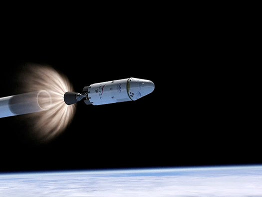 SpaceX to Launch Private ISS Shuttle in Mid-2010