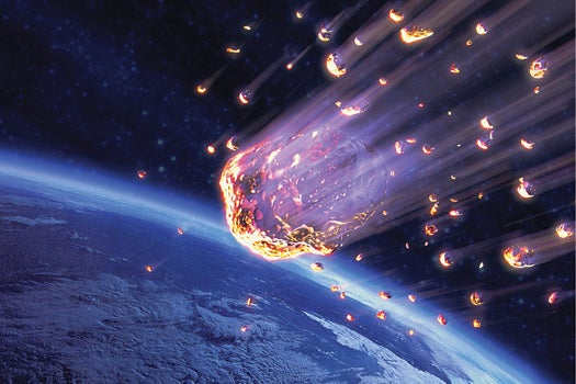 Meteors May Have Brought Vitamin B To Earth