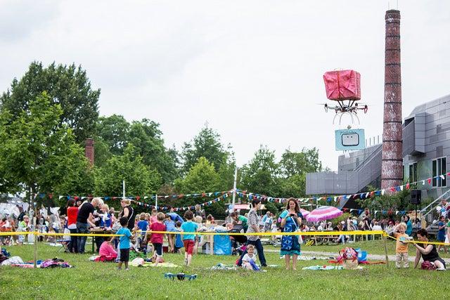 SXSW 2015: Cuddly Drones Designed By Kids